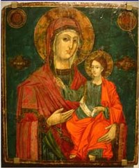 Mary Christ Dovezentse Church 1838 Icon.jpg