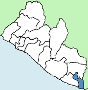 Maryland County Liberia locator.png