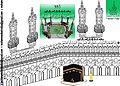 Masjid ul Haramain Shareef Saudi Arabia designed by mohammedashrafpa irimbiliyam.jpg