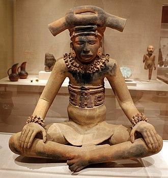 Totonac culture - Totonac ceremic figure