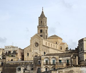 Matera Cathedral - Matera Cathedral, west front