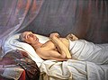 Mathieu Ignace van Brée - Herzog Friedrich Wilhelm auf dem Totenbett - 1815 (Beschnitten).jpg