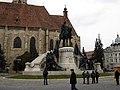 Matia Corvin Statue nov 2010.jpg