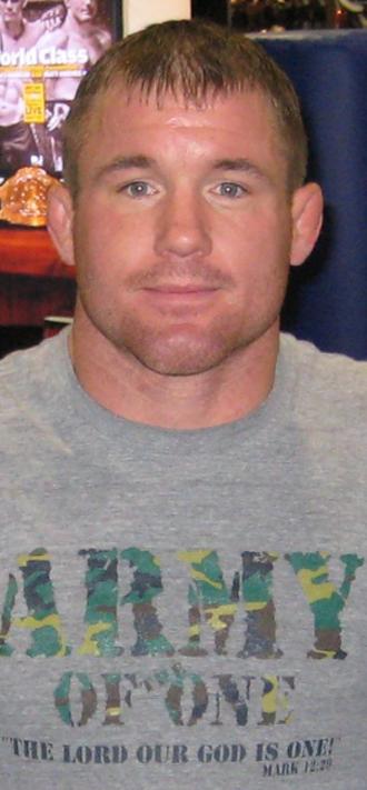 Matt Hughes (fighter) - Hughes in 2007