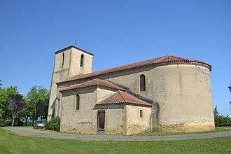 Maumusson-Laguian - Image: Maumusson Laguian église abside 2