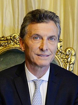 2018 G20 Buenos Aires summit - Image: Mauricio Macri en 2015
