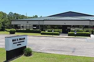 Gadsden County, Florida - Max D. Walker School Administration Building, the Gadsden County School District headquarters