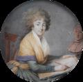 Maximilien Villers - Portrait of a female artist sketching a bust.png