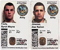 May 2007 soldier kidnappings ID cards.jpg
