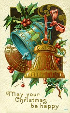 May Your Christmas Be Happy. (Three bells with holly).jpg
