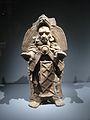 Mayas, Révélation d'un temps sans fin - Porte encensoir homme Jaguar.JPG