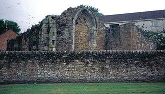 Maybole - St.Cuthbert's collegiate church in 2005.