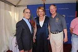 Mazen Izzeddin Abdalla Tal, Kimberly Emerson and John B Emerson, July 2016.jpg