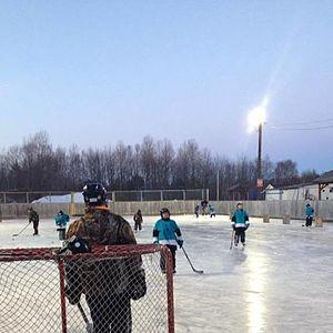McAdam, New Brunswick - McAdam Outdoor Skating Rink