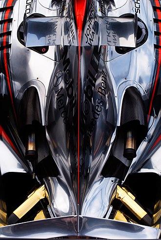 McLaren MP4-21 - Image: Mc Laren MP4 21 rear