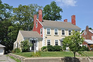 Charles Brooks House - Image: Medford MA Charles Brooks House