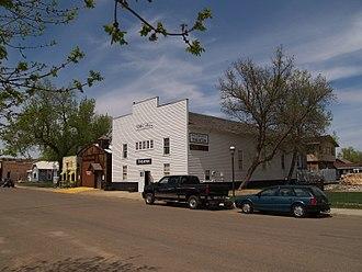 Medora, North Dakota - Business District of Medora (2008)