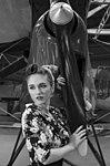 Megan at Newark Air Museum (41629890185).jpg