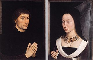 Diptyque de Tommaso Portinari et de sa femme
