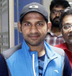 Sarfaraz Ahmed Pakistani cricketer