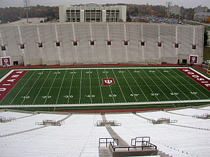 Memorial Stadium (Indiana) - Image: Memorial Stadium IUB