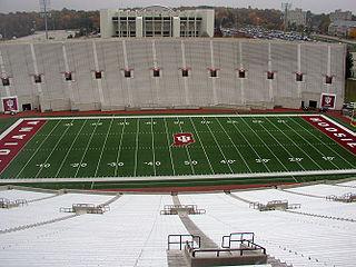 Memorial Stadium (Indiana University) stadium in Bloomington, Indiana