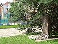 Memorial at Site of Lietukis Garage Massacre of Jewish Men - Kaunas - Lithuania - 02 (27919812715) (2).jpg