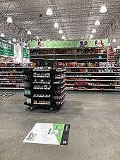 Grocery Section Of Menard S In Traverse City Michigan