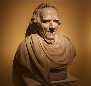 Jean-Pierre-Antoine Tassaert - Bust of Moses Mendelssohn