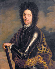 Portrait of Menno van Coehoorn (1641-1704), general in the artillery and fortifications engineer