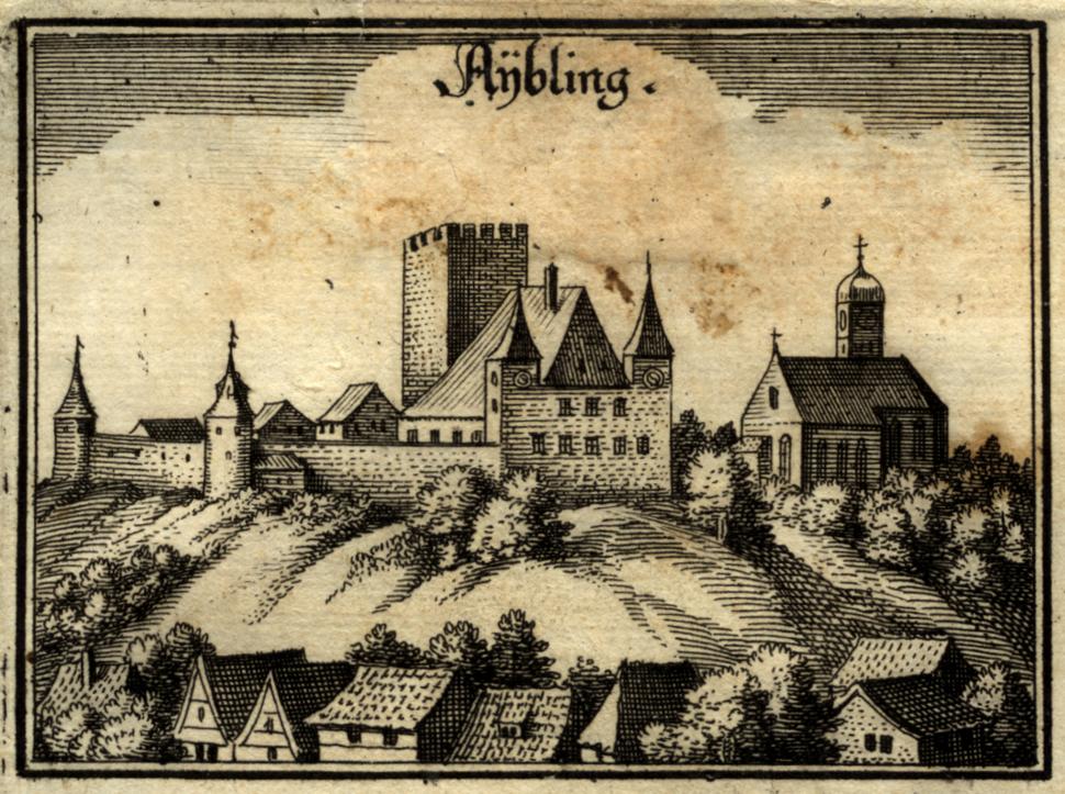 Merian aybling 1644