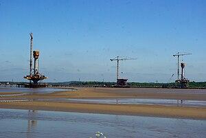 Mersey Gateway - Image: Mersey Gateway bridge