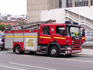 Merseyside Fire and Rescue Service Firefighter organization in Merseyside