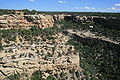 Mesa Verde National Park Junction of Fewkes and Cliff Canyon 2006 09 12.jpg
