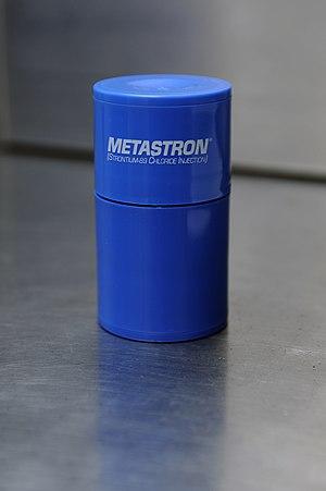 Strontium-89 - Image: Metastron (Strontium 89), GE Healthcare