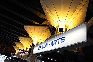 Beaux-Arts (Charleroi Metro) - Image: Metro Charleroi Beaux Arts station