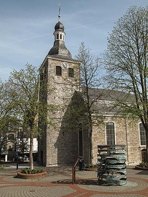 Mettmann - Image: Mettmann, die evangelische Kirche Dm 36 foto 2 2014 03 30 11.54