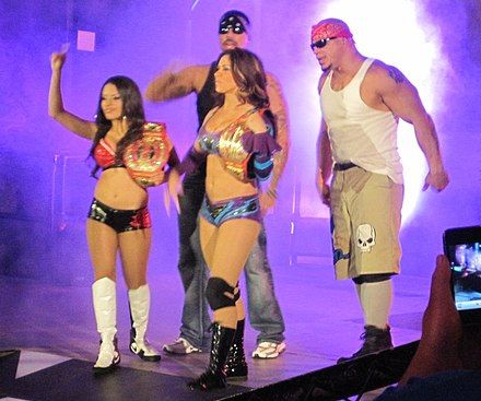 Mexican America making their entrance in June 2011 Mexican America TNA.jpg