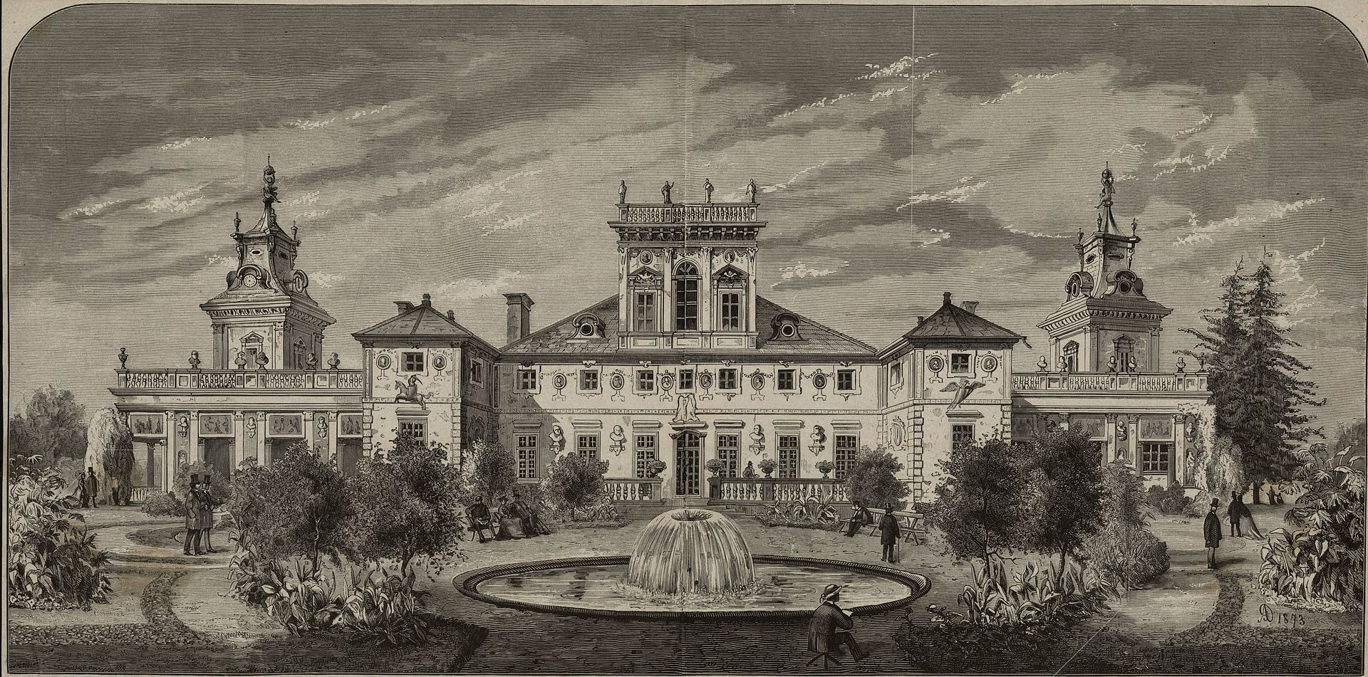 Михал Ключевский Pałac w Wilanowie.jpg