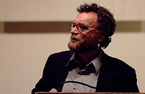 Michael Swanwick - At the Avram Davidson tribute, NYC, 2007