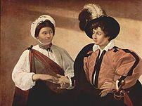 The Fortune Teller, by Caravaggio (1594–95; Ca...