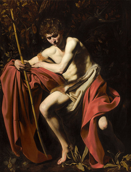 """Saint John the Baptist in the Wilderness"" by Caravaggio"