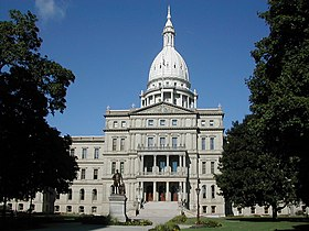 Image illustrative de l'article Capitole de l'État du Michigan
