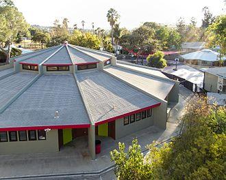 International School of Los Angeles - Original Midtown School buildings