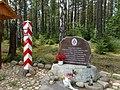 Miejsce mordu Żołnierzy 24 Batalionu KOP Sejny w dniu 24.09.1939r. na strażnicy w Stanowiskach przez Armię Sowiecką - panoramio.jpg