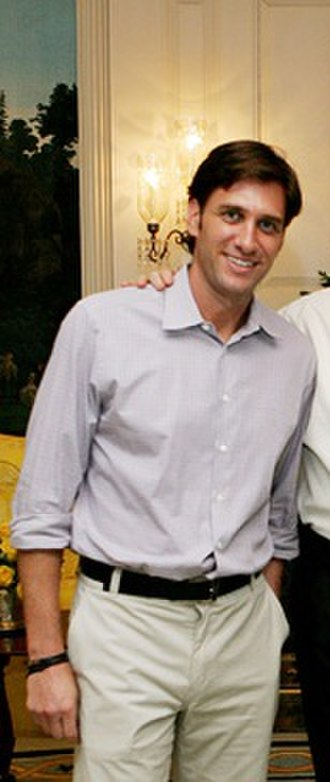 Mike Greenberg - Image: Mike Greenberg at the White House