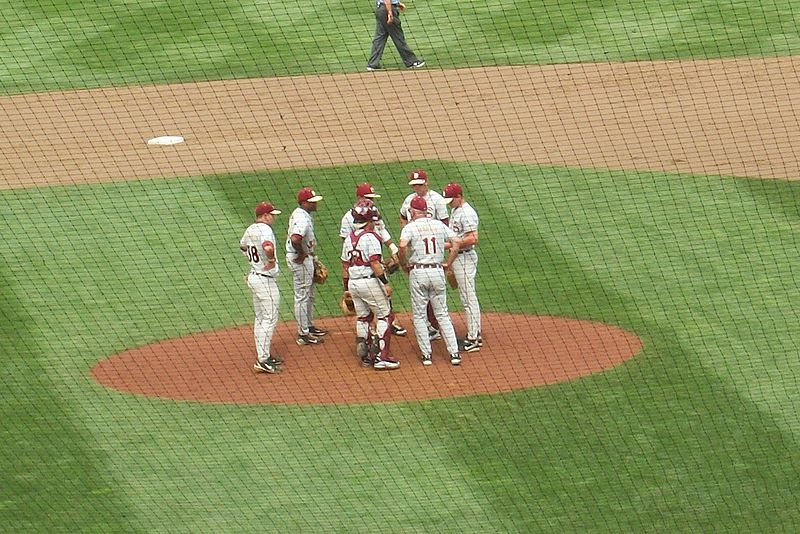 File:Mike Martin coaches FSU at the College World Series.jpg