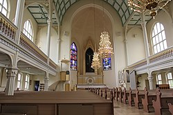 Mikkeli cathedral interior 1.JPG