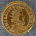 Milano, 2 doppie di filippo IV di spagna e duca di milano, 1630.JPG
