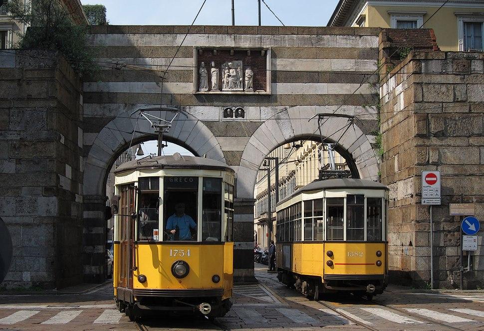 Milano tram piazza Cavour
